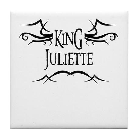 King Juliette Tile Coaster