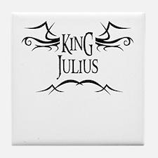 King Julius Tile Coaster