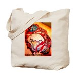 Raging Eagle Tote Bag