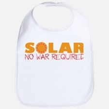 Solar Energy No War Bib
