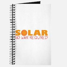 Solar Energy No War Journal