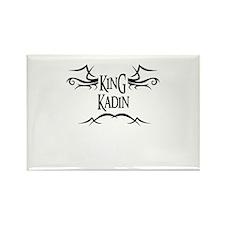 King Kadin Rectangle Magnet