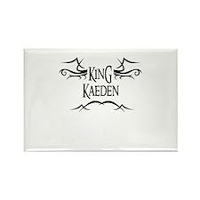 King Kaeden Rectangle Magnet