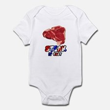 Steak it easy Infant Bodysuit