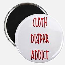 """Cloth Diaper Addict 2.25"""" Magnet (100 pack)"""
