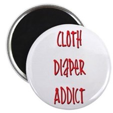 Cloth Diaper Addict Magnet