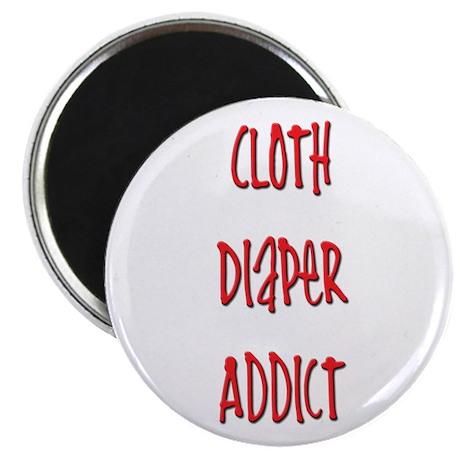 Cloth Diaper Addict Magnet