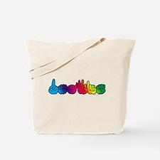 DEAFIE Rainbow Tote Bag