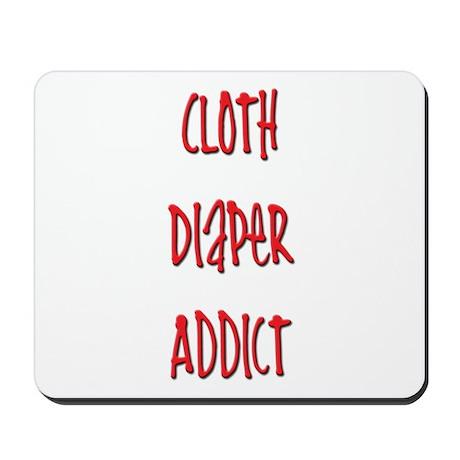 Cloth Diaper Addict Mousepad