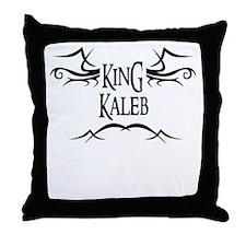King Kaleb Throw Pillow