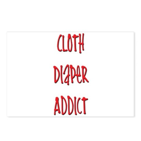 Cloth Diaper Addict Postcards (Package of 8)