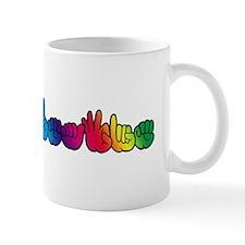 DEAFIE Rainbow Mug