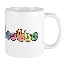 DEAFIE Pastel Mug
