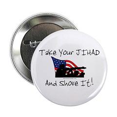 "No Jihad Zone 2.25"" Button (10 pack)"