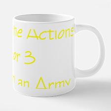 take down army.png 20 oz Ceramic Mega Mug