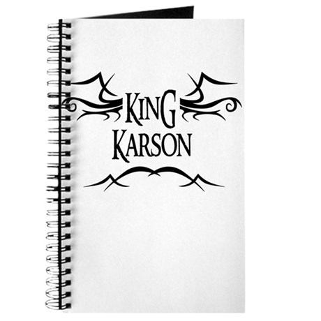 King Karson Journal