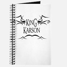 King Karson Journal