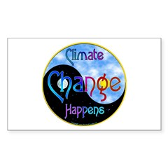 Climate Change Decal