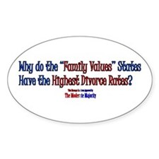 """""""Family Values"""" Decal"""