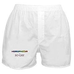 Homophobia is So Gay Boxer Shorts