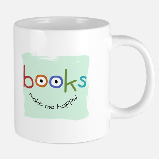bookHAPPY_mug.png 20 oz Ceramic Mega Mug