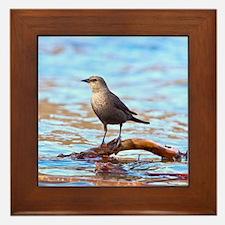 Unique Water birds Framed Tile