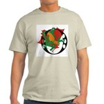 Dragon O Ash Grey T-Shirt