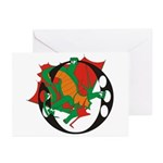 Dragon O Greeting Cards (Pk of 10)