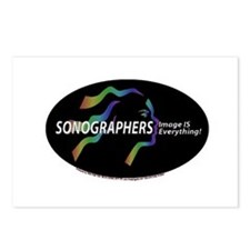 Sonographer Image is everythi Postcards (Package o