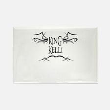 King Kelli Rectangle Magnet