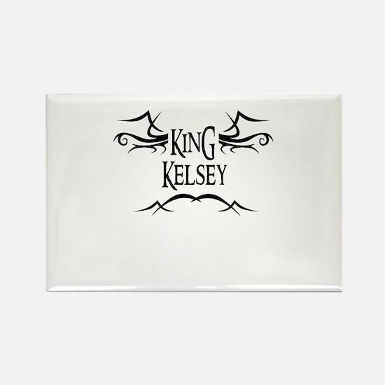 King Kelsey Rectangle Magnet