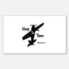 Hang in There Rectangle Decal