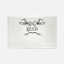 King Kelton Rectangle Magnet