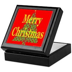 K9 Paw Christmas Tree Keepsake Box