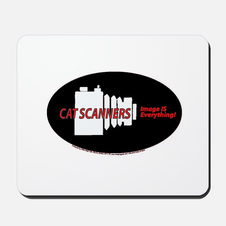 Cat scanners camers Mousepad