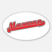 Masarap Oval Decal