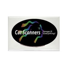 Cat scanners image is everyth Rectangle Magnet