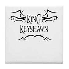 King Keyshawn Tile Coaster