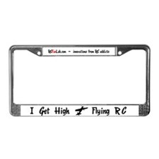 I Get High License Plate Frame