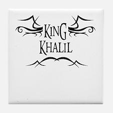 King Khalil Tile Coaster