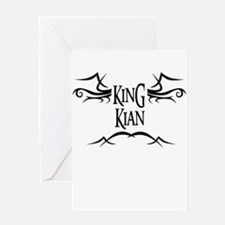 King Kian Greeting Card