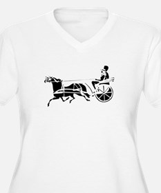 """The First Carriage Horse"" T-Shirt"