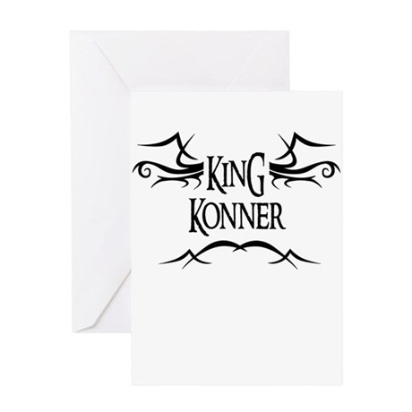 King Konner Greeting Card