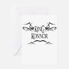 King Konnor Greeting Card