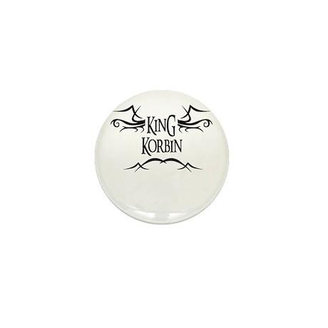 King Korbin Mini Button (10 pack)