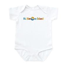 St. Simons Island GA Infant Bodysuit