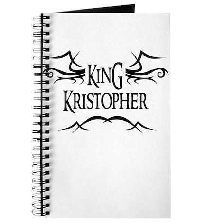 King Kristopher Journal