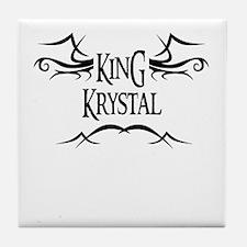 King Krystal Tile Coaster