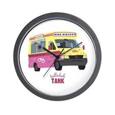Mrs Whippy Wall Clock