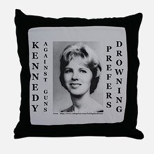 Kennedy Against Guns Throw Pillow
